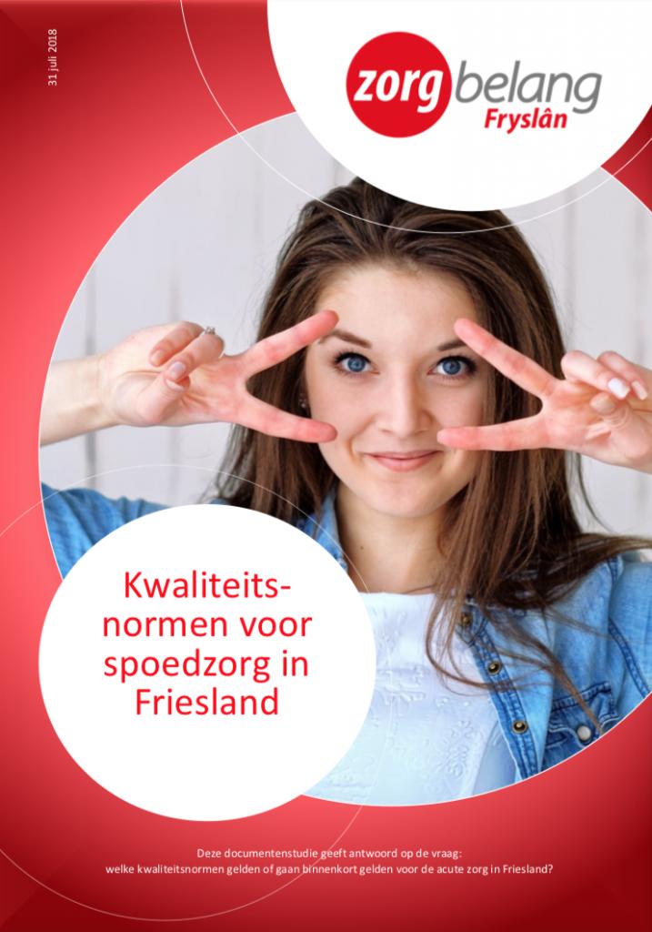 Rapport kwaliteitsnormen spoedzorg Friesland